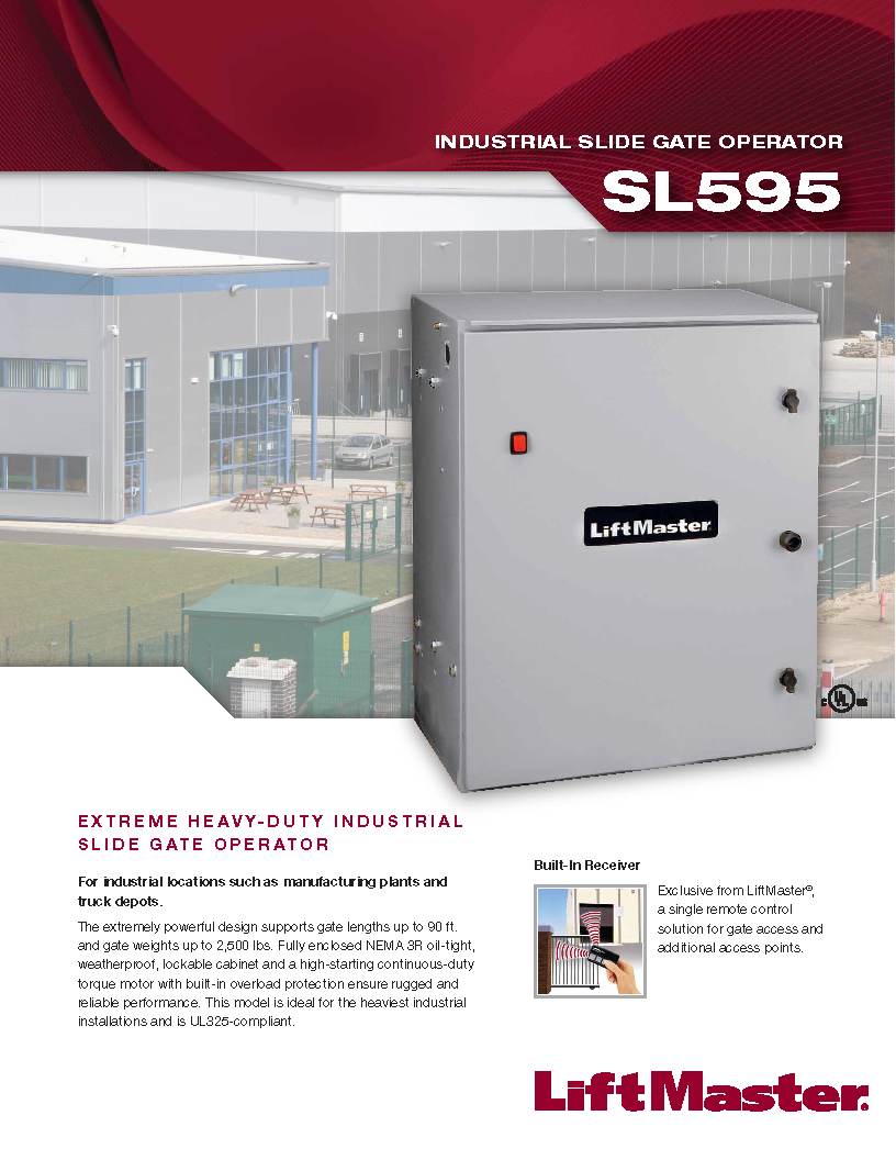 Liftmaster Sl595 Southeast Access Technologies